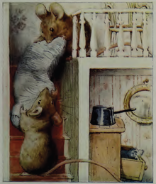 220px-Beatrix_Potter,_Two_Bad_Mice,_Mice_on_stairs