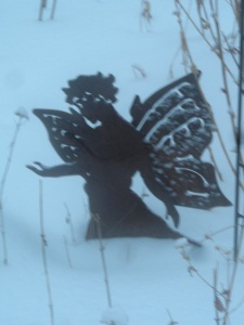 Fairy with more snow