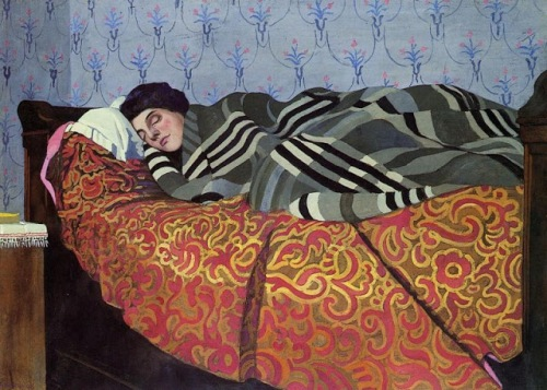 v_1899_F_lix_Edouard_Vallotton_Swiss_artist_1865_1925_Sleeping_Woman