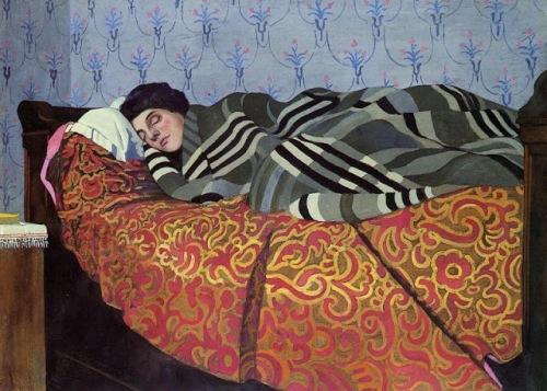 v_1899_F_lix_Edouard_Vallotton_Swiss_artist_1865_1925_Sleeping_Woman
